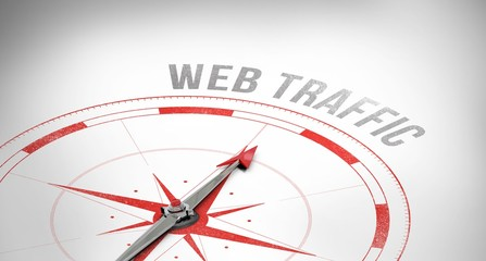 Web traffic against compass