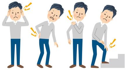 肩こり 頭痛 腰痛 関節痛