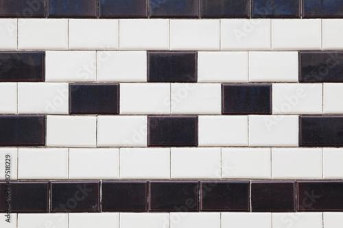 Gekachelte Fassade Kacheln Fliesen Wand Rechteckig Schwarz - Fassaden fliesen kaufen