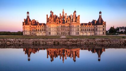 Chateau Chambord, Loire.