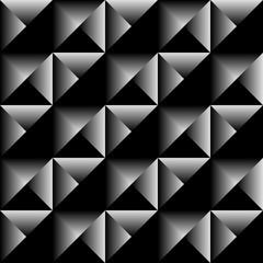 Geometric cube seamless background