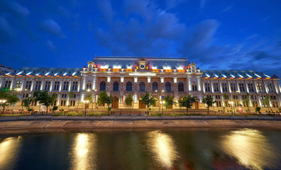 BUCHAREST, RO, JUL 2015 Palace of Justice
