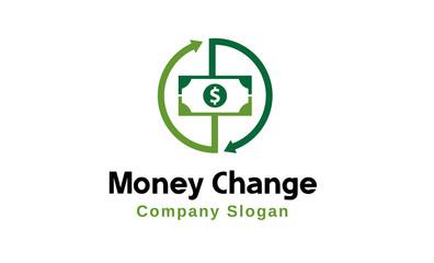 Money Change Logo template