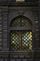 Window with black bar