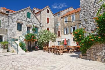 Picturesque mediterranean architecture, Croatia, Europe