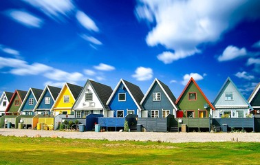 Houses in Scandinavia, Europe