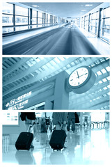 Airport collage