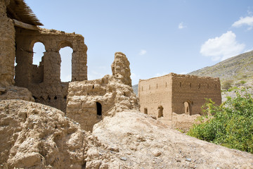 Ruins in Tanuf Oman
