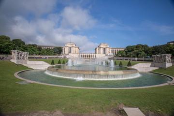 Trocadero Fountain - Stock image