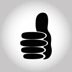 Illustration Icon Vector Thumbs Up