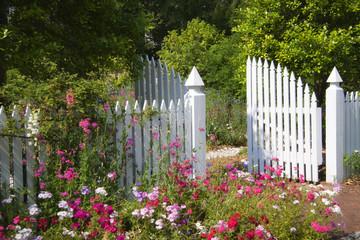 Garden Gate in the Spring
