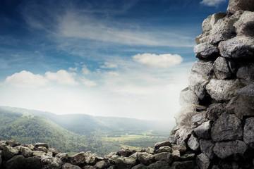 beautiful view of stones