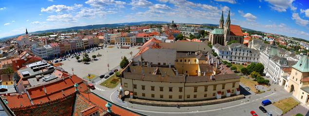 Kromeriz Cityscape, Czech Republic