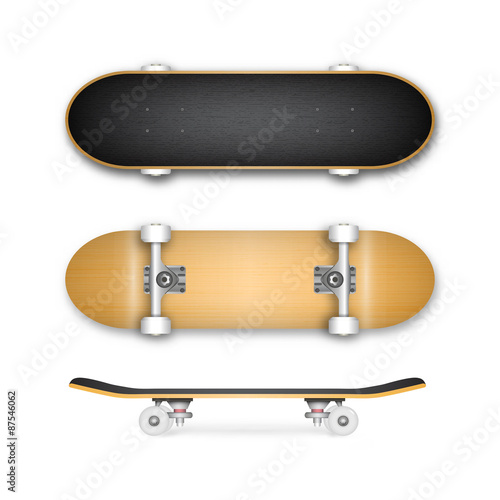 Skateboard Vector Silhouette Set Stock Image And Royalty Free Files On Fotolia