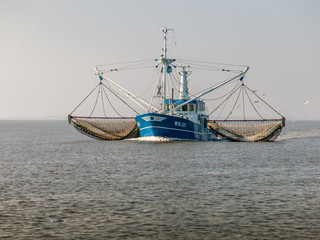 Fishing ship, Holland