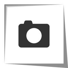 Camera paper cut out