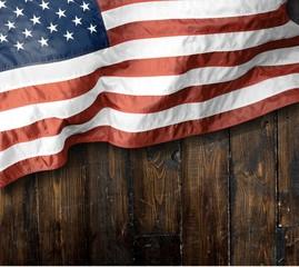 Memorial, day, flag.