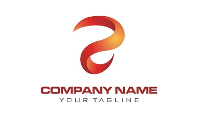 Letter R Logo. Letter R Abstract Colorful Logo Design Element
