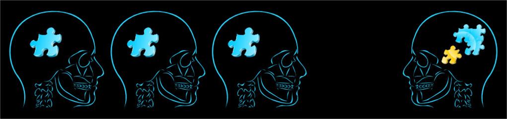 myśli i puzzle