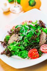 Warm beef salad