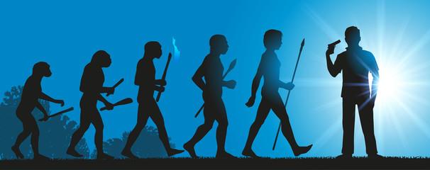 Hommes Evolution Suicide