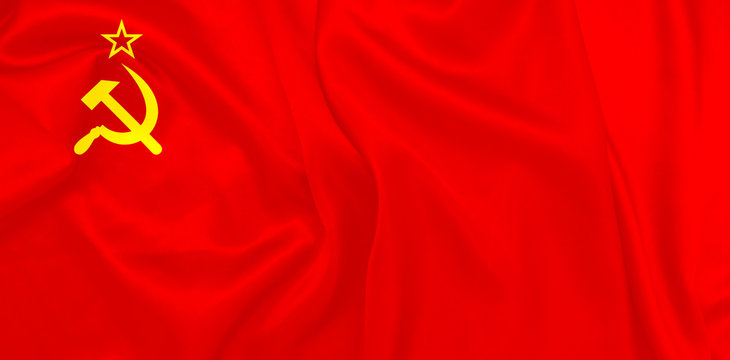 Soviet Union flag Also known as The red banner