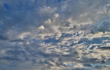 Hintergrund bewegter Himmel