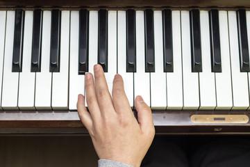 피아노 손