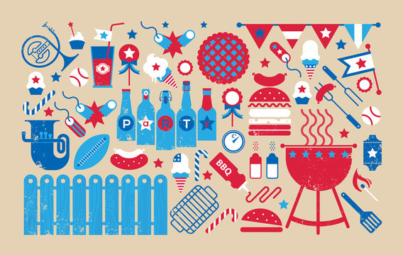Composition with bbq symbols