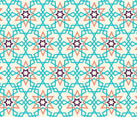Tangled Pattern based on traditional islam pattern