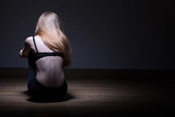 Photo of skinny woman