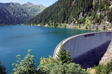 barrage de st guérin-savoie