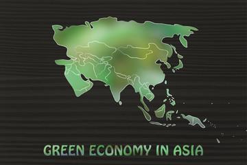 green economy in Asia