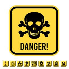 Danger skull