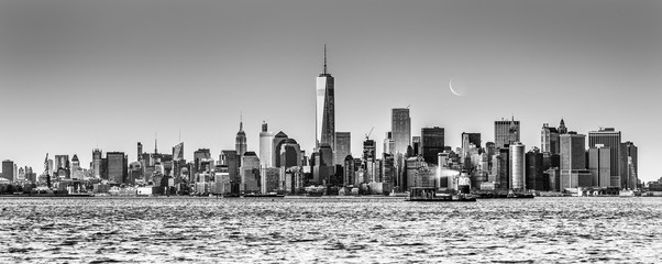 Fototapete - New York City Manhattan downtown skyline