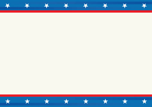 background with American template
