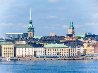 View of the Old City, Stockholm, Sweden