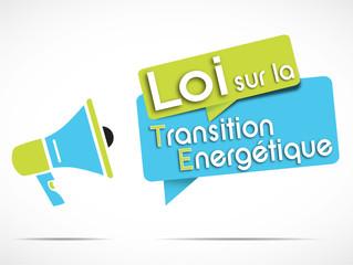 mégaphone : loi transition énergétique