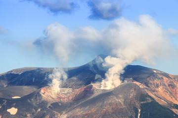 Volcano in Japan, Hokkaido