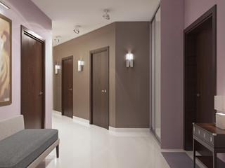 Elegant modern hallway trend