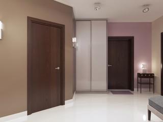 Idea of minimalist entrance hall