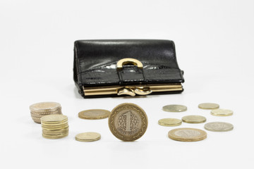 coin and purse