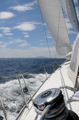 segeln in der Kvarner-Bucht