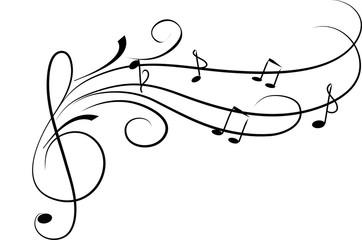 Fantasia con chiave musicale