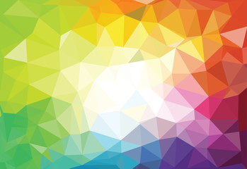 pattern of geometric shapes. Triangle mosaic  backgrounds