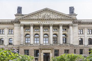 German Bundesrat (1850) on Leipziger Strasse, Berlin, Germany.