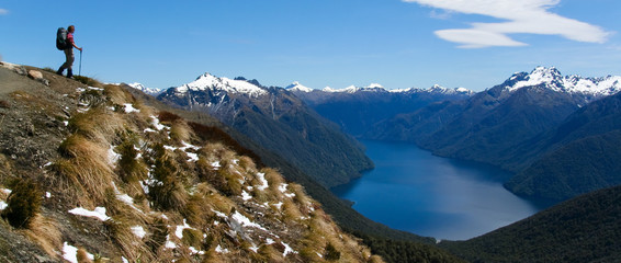 Views from Kepler track, New Zealand