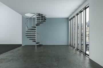 modernes Loft - Visualisierung