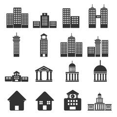 House Real Estate building  icons