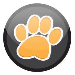 Paw, Animal paw vector